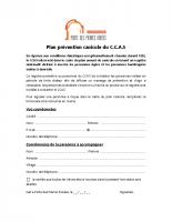 Formulaire – registre plan canicule
