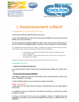 L'Assainissement collectif