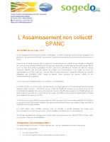 L'Assainissement Non Collectif – SPANC