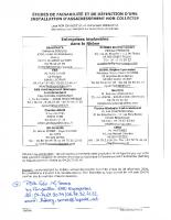 Liste – Bureaux d'études
