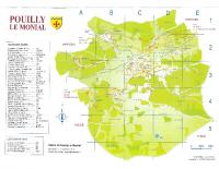 Plan de Pouilly le Monial