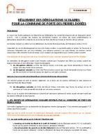 Règlement dérogation scolaire Porte des Pierres Dorées 2021-2022